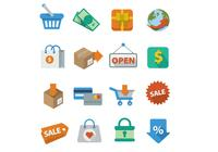 Shopping Icons PSD