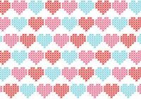 Crossstitch Heart Pattern