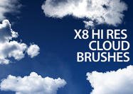 Photoshop Cloud Borstels Met Commercial License Volume 1