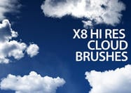 Photoshop Cloud Brushes With Commercial License Volume 1