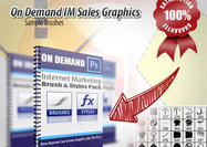 On Demand Internet Marketing Sales Brushes