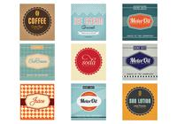 Vintage Advertising Background Pack