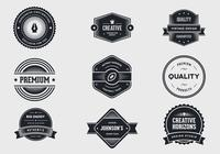 Vintage Label Brushes Pack