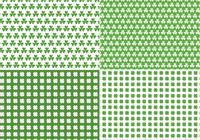 Seamless Clover Pattern Pack
