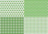 Seamless Clover Pattern Pack