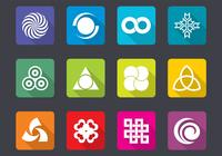Bright Design Icon Pensels en PSD Pack