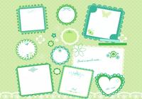 Ensemble PSD Cute Scrapbook