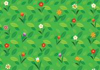 Cartoon Flower Background PSD