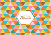 Colorful Triangle Background PSD
