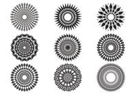 Decorative-sunburst-brushes