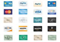 Payment PSD Icon Pack