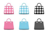 Girly Mode Tasche Icons PSD