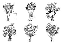 Bouquet de flores PSD Pack