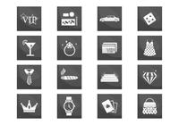 VIP Luxury Icons PSD Set