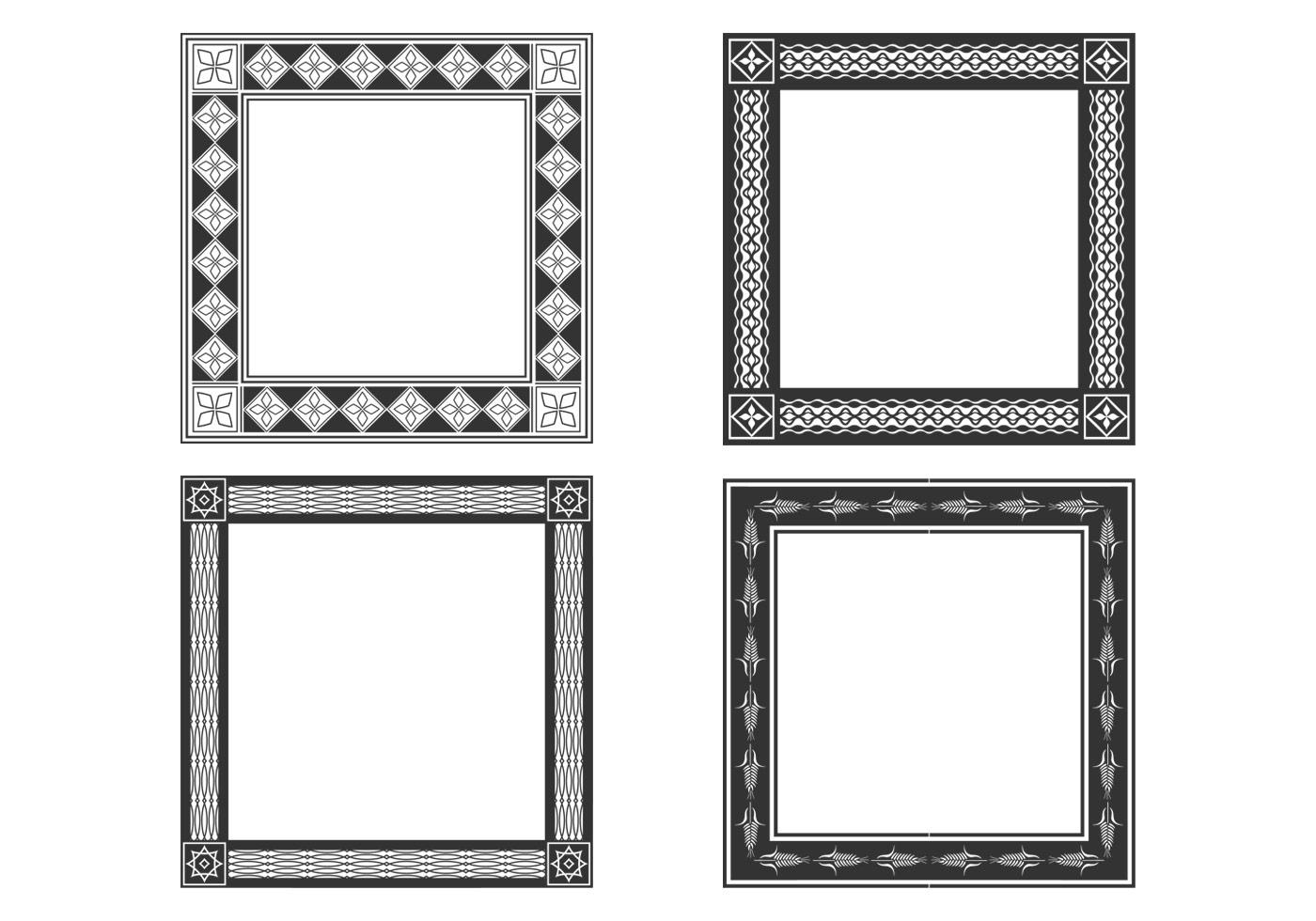Decorative Bold Frames PSD Set - Free Photoshop Brushes at Brusheezy!