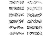 Leafy Vine Borders Brushes