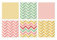 Sheringbone chevron seamless patterns