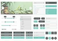 Glacier-ui-psd-kit-photoshop-ui-kits