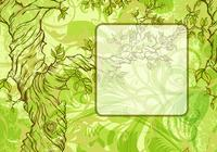 Whimsical Tree Frame Backgrounds