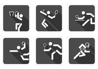 Bal sport pictogram psd set