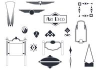 Art Deco Signs and Ornaments Brushes