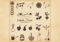 Farm Fresh Products Brushes