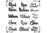 Retro-vintage-open-closed-sign-brushes