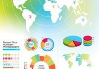 Infografisches PSD Pack