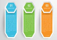 Hexagons Banners PSD Set
