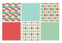 Retro Harlequin Patterns