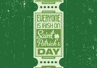 Irish St. Patrick's Day PSD Background