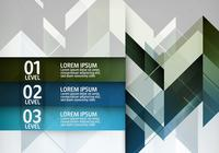 Geometric Infographic PSD Background