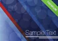 Bokeh striped background psd