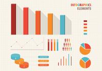 Elementos Infográficos Conjunto PSD