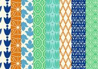 8 Seamless Retro Patterns
