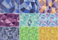 Abstracte Polygonale Patroon Pack