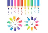 Colored-pencils-psd-collection-photoshop-psds