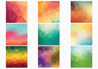 Geometric Polygonal Backgrounds PSD Collection