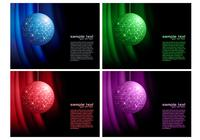 Disco Ball Background PSD