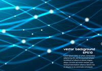 Blue Glowing Line Background PSD