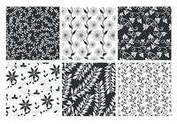 Floral Patterned Backgrounds PSD Set