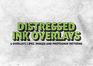 Distressed-ink-texture-overlays