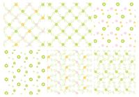 Green-floral-patters-photoshop-patterns