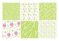 Pink-green-floral-backgrounds-psd-set