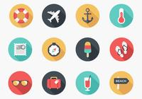 Sommer icon psd pack