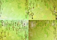 Vintage Skeleton Key Background PSDs