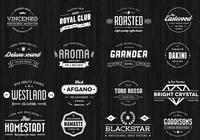 Vintage Badge PSD Pack