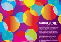 Fondo colorido púrpura tres PSD