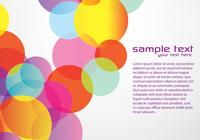 Bright Circle Background PSD