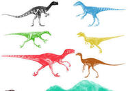 Dinosaur Brushes Pack